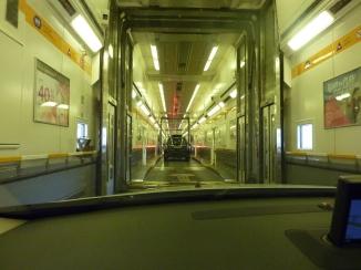 Inside Train Carraige