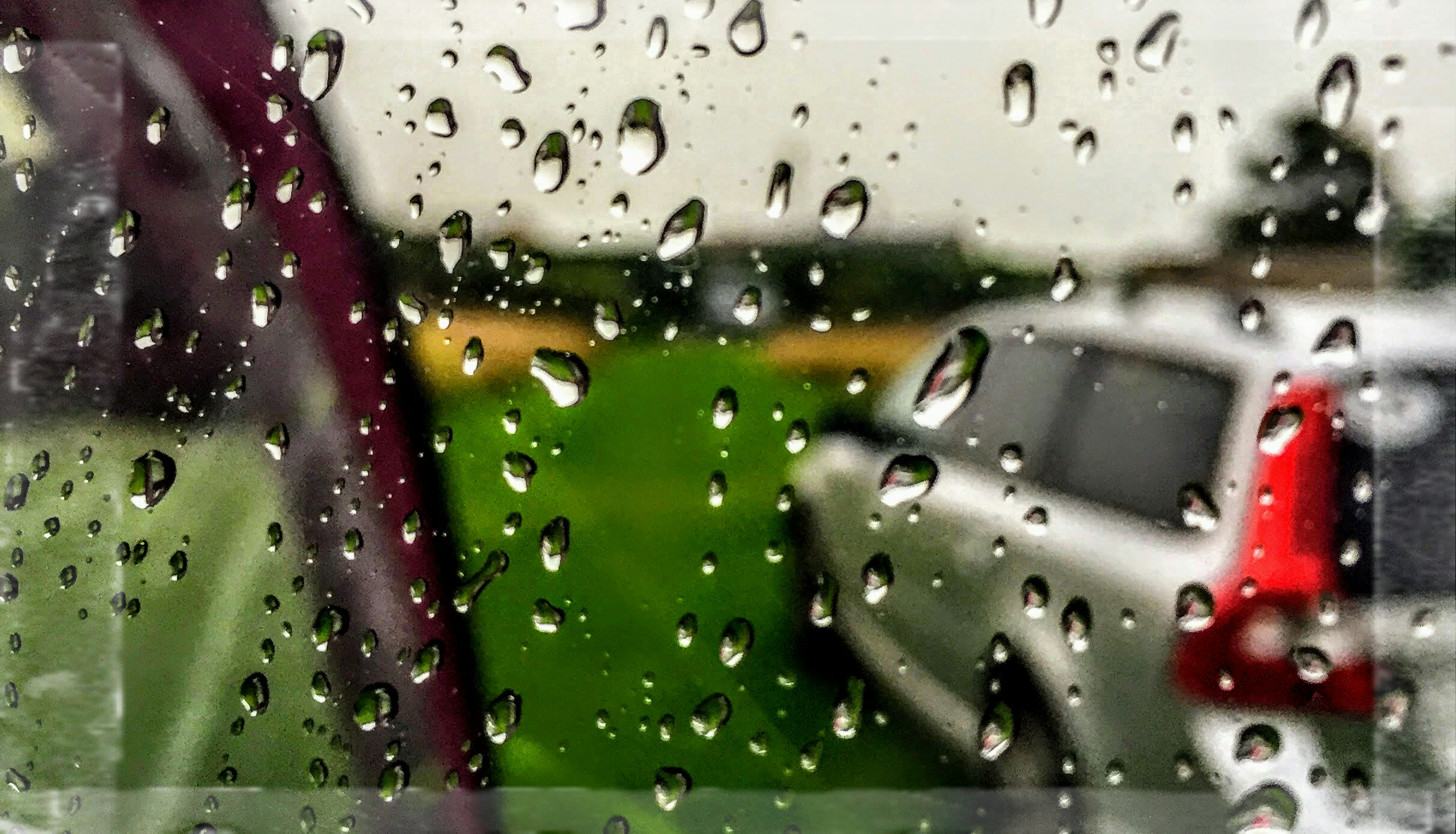 We love the sound of rain against the caravan roof it reminds us of summers gone by when we were c&ing in a canvas tent. & Let it Rain u2026 Wait is that a leak? u2013 inpursuitofadream.com